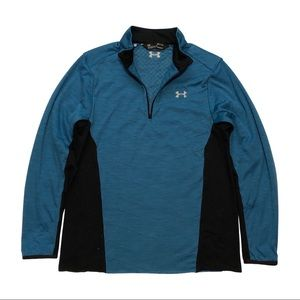 UNDER ARMOUR 1/4 ZIP INSULATED PERFORMANCE SWEATER